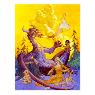 Dragon Cookout Postcard