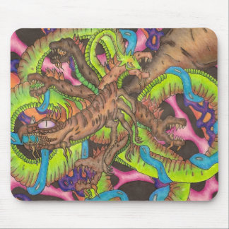 Dragon Creatures Mouse Pad