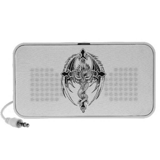 Dragon cross-country race portable speakers