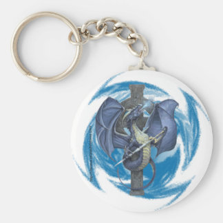 Dragon Cross - Keychain