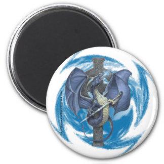 Dragon Cross - Magnet