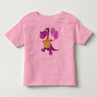 Dragon Cupcake And Balloons Kids T-Shirt