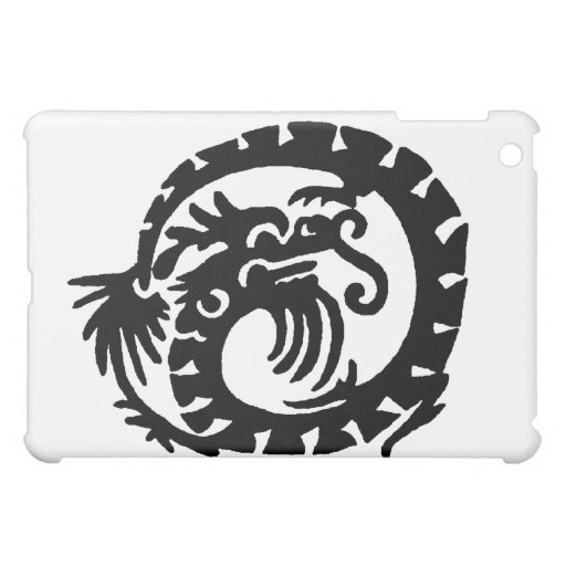 Dragon Curled into a  Circle Case For The iPad Mini