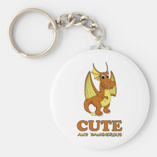 Dragon: Cute and Dangerous! Key Ring