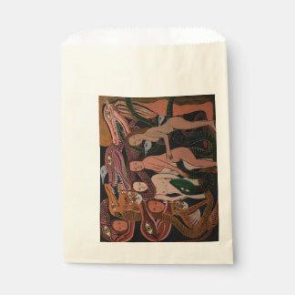 """Dragon Dancers """"Favor Bag"""" Favour Bags"""