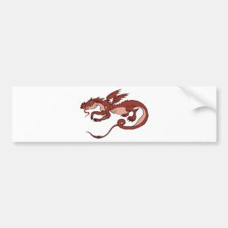 Dragon Design 23 Bumper Sticker