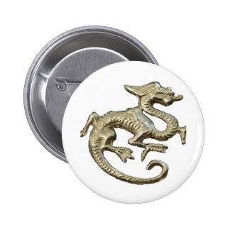 Dragon Design 6 Cm Round Badge