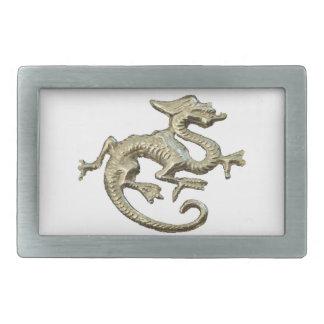 Dragon Design Rectangular Belt Buckles