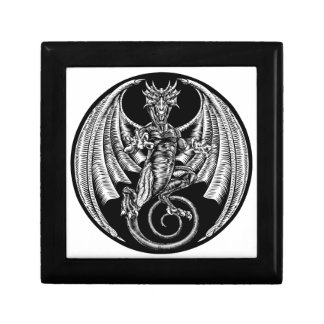 Dragon Design Small Square Gift Box