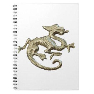 Dragon Design Spiral Notebooks