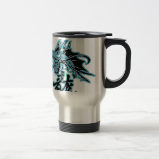 Dragon design travel mug