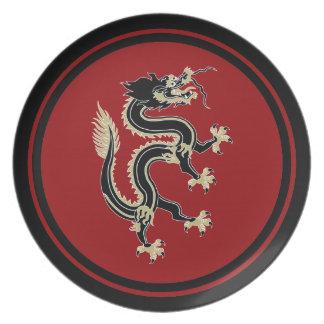 Dragon Dinner Plates