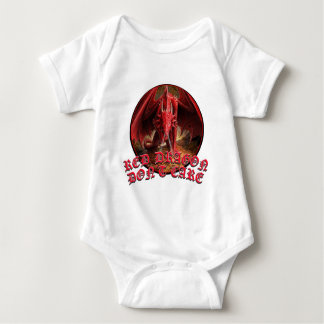 Dragon Dont Care Baby Bodysuit