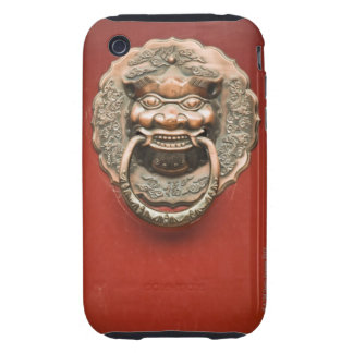 Dragon door knocker tough iPhone 3 case
