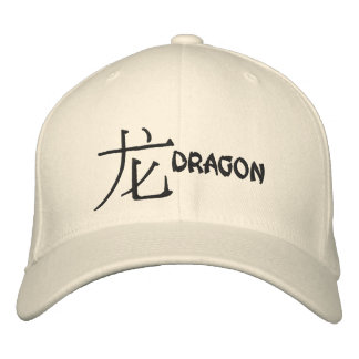 Dragon Dragon Embroidered Hats