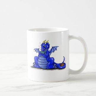 Dragon Drinking Tea Coffee Mugs