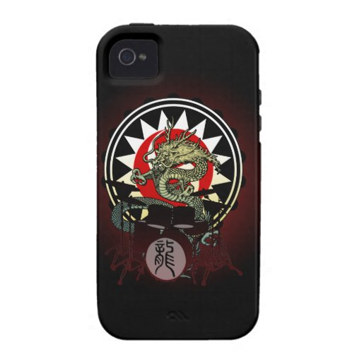 Dragon Drum 06 Vibe iPhone 4 Cover