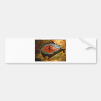 dragon eye bumper sticker