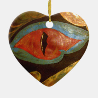 dragon eye christmas ornament