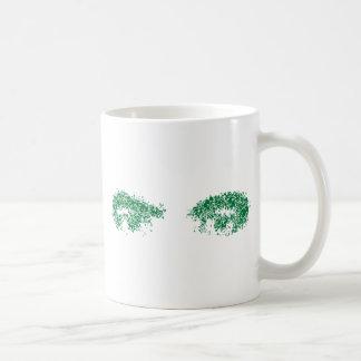 Dragon Eyes in green Mugs