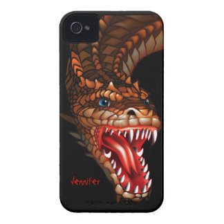 Dragon Face Blackberry Curve Case