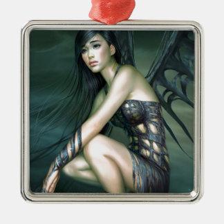 dragon fairy christmas ornament