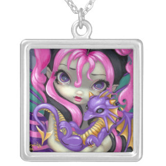 Dragon Fairy NECKLACE Faces of Faery 142