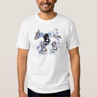 Dragon fantasy art tee shirt
