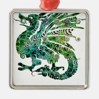 Dragon Fantasy Style Christmas Ornament