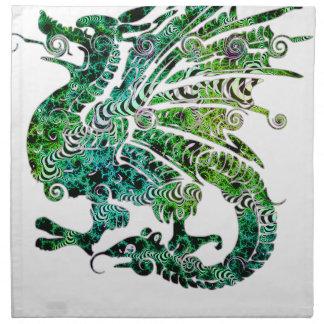 Dragon Fantasy Style Napkin