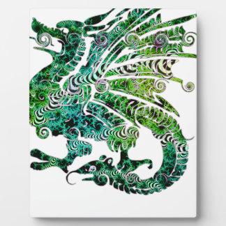 Dragon Fantasy Style Plaque