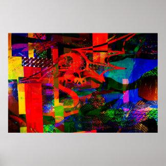 Dragon Fantsy Collage100_2751 Print