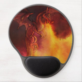 Dragon Fire Mouse Pad