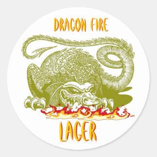 DRAGON FIRE STICKER ~ RENAISSANCE ~ HOME BREW!