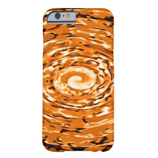 Dragon Fire Storm Paint Abstract Custom iPhone Barely There iPhone 6 Case