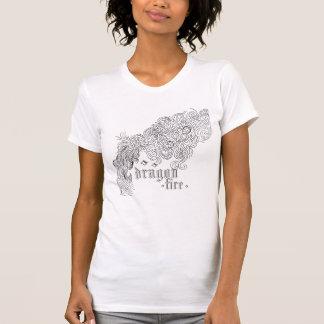 dragon fire tee shirt