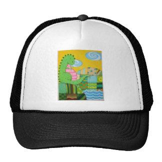 dragon fishing cap