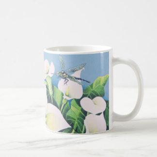 Dragon Flies Basic White Mug