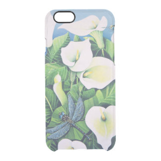 Dragon Flies Clear iPhone 6/6S Case