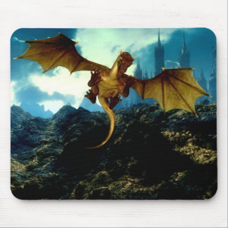 Dragon Flight Mouse Pad