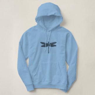 'Dragon-Fly_Woman's_Hooded_Sweatshirt Hoodie
