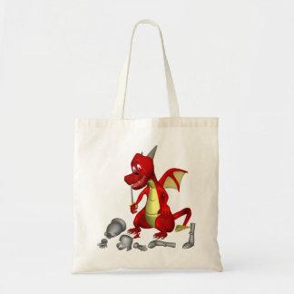 Dragon Food Tote Bag