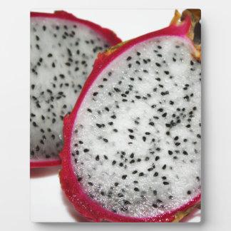 Dragon fruit plaque