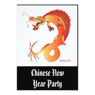 Dragon full colour Invitation