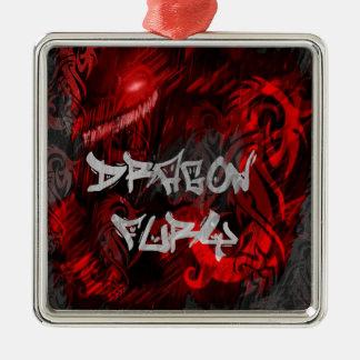 Dragon fury christmas ornament