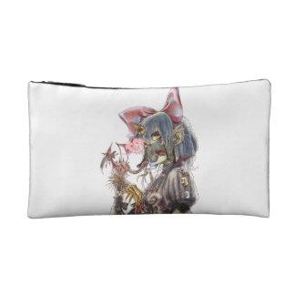 Dragon girl cosmetic bag
