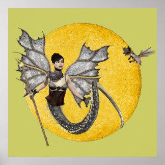 Dragon Goddess Poster