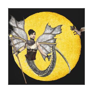 Dragon Goddess Wrapped Canvas Canvas Prints