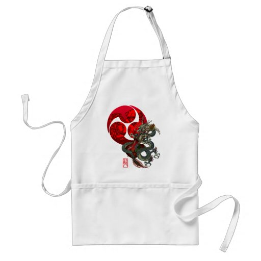 Dragon Guitar Tomoe Aprons