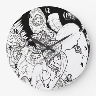 Dragon Hatchling Large Clock